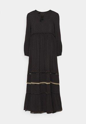 AMEERA DRESS - Maxi šaty - black