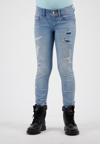 RAIZZED - Jeans Skinny Fit - mid blue stone - 0