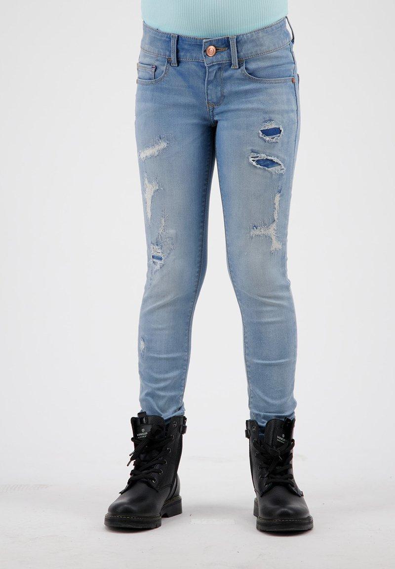 RAIZZED - Jeans Skinny Fit - mid blue stone