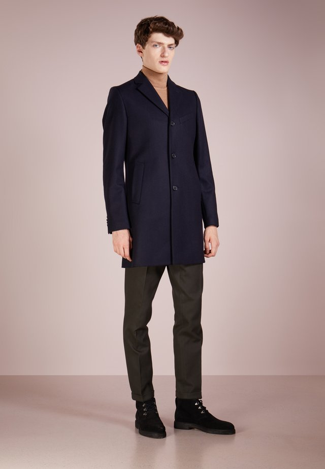 WOLGER COMPACT MELTON - Cappotto classico - navy