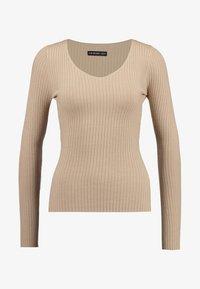 Even&Odd - Stickad tröja - sand - 4
