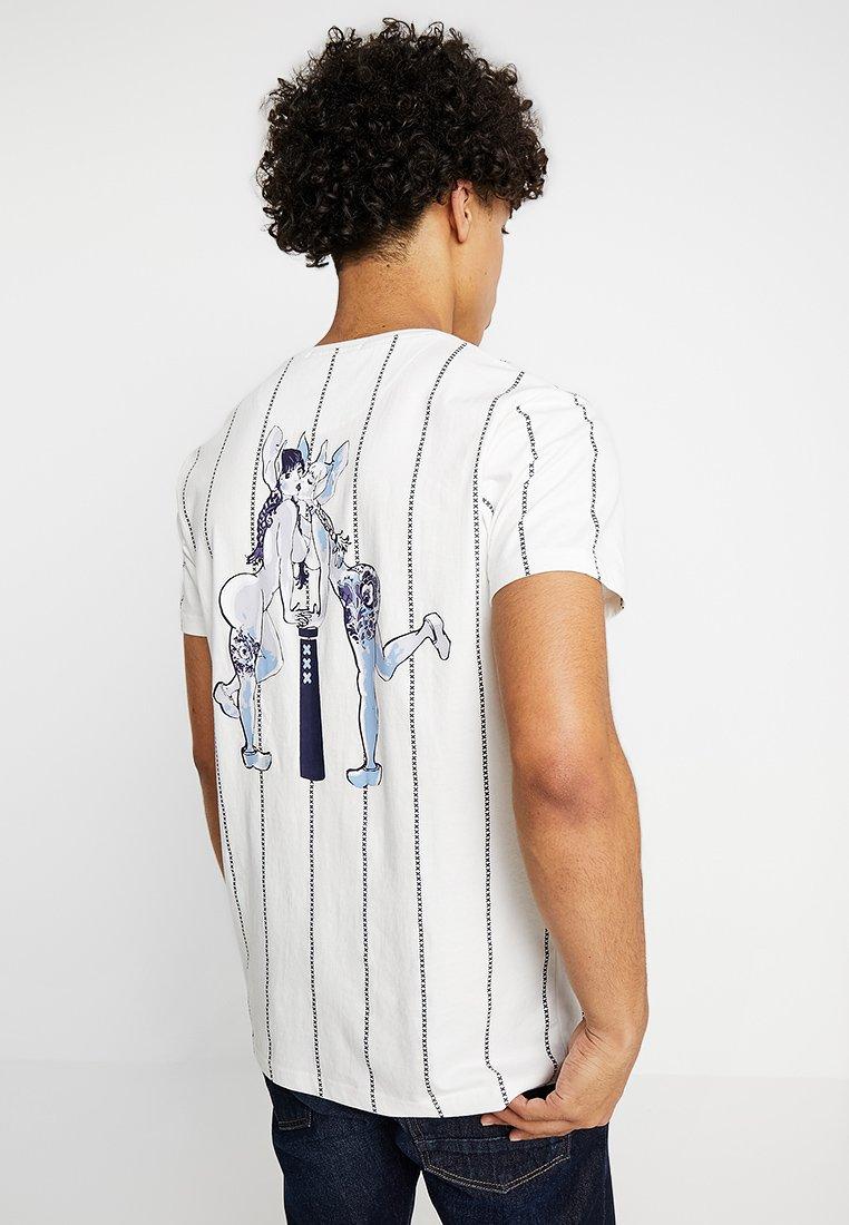 Amsterdenim - AMSTERDAM PRIDE - T-shirt con stampa - off-white