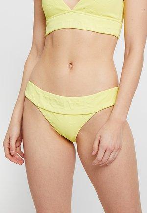 BANDED HIPSTER - Bikini bottoms - lime light
