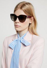Gucci - Sunglasses - havana/blue/brown - 1