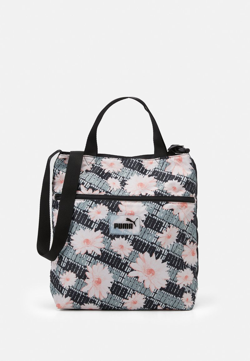 Puma - CORE POP SHOPPER UNISEX - Tote bag - black