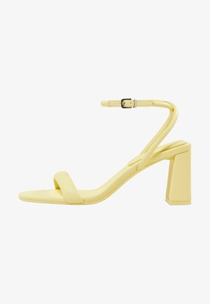 Sandals - light yellow