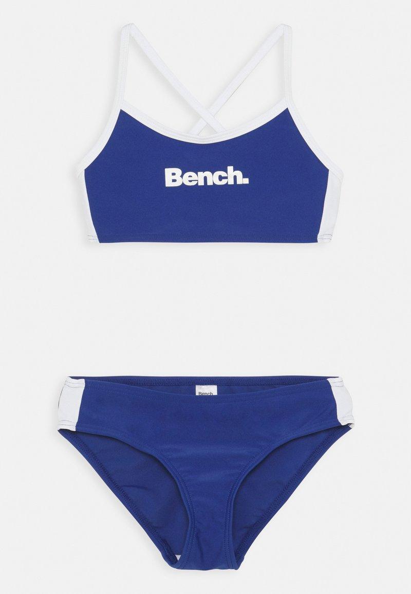 Bench - BENCH BOCA - Bikini - blue/white