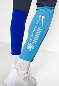 Nike Performance - ELITE WOVEN PANT BLUE RIBBON SPORTS - Pantalones deportivos - thunder blue/game royal/coast/white - 3
