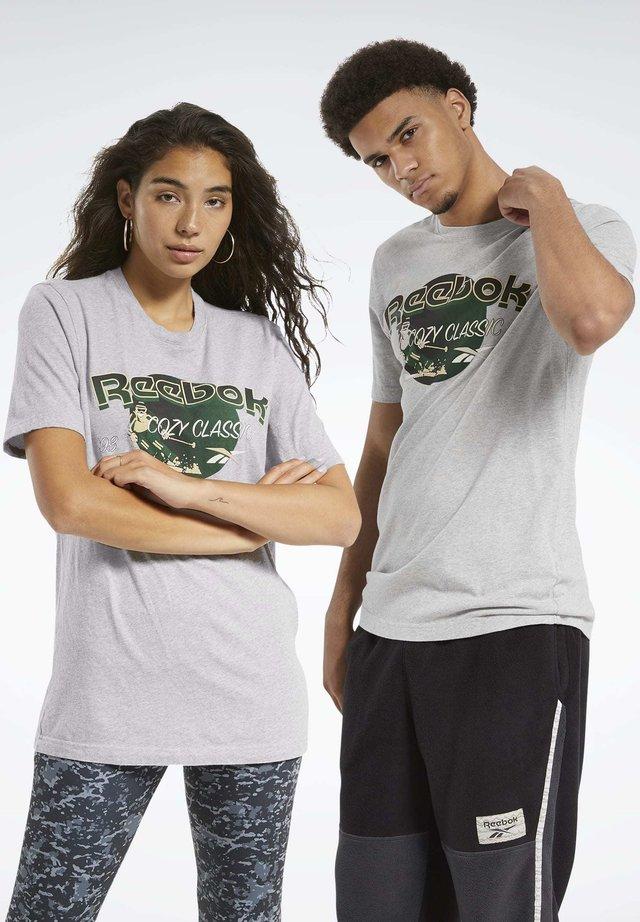 CL GP WE TEE - T-shirt imprimé - mgreyh