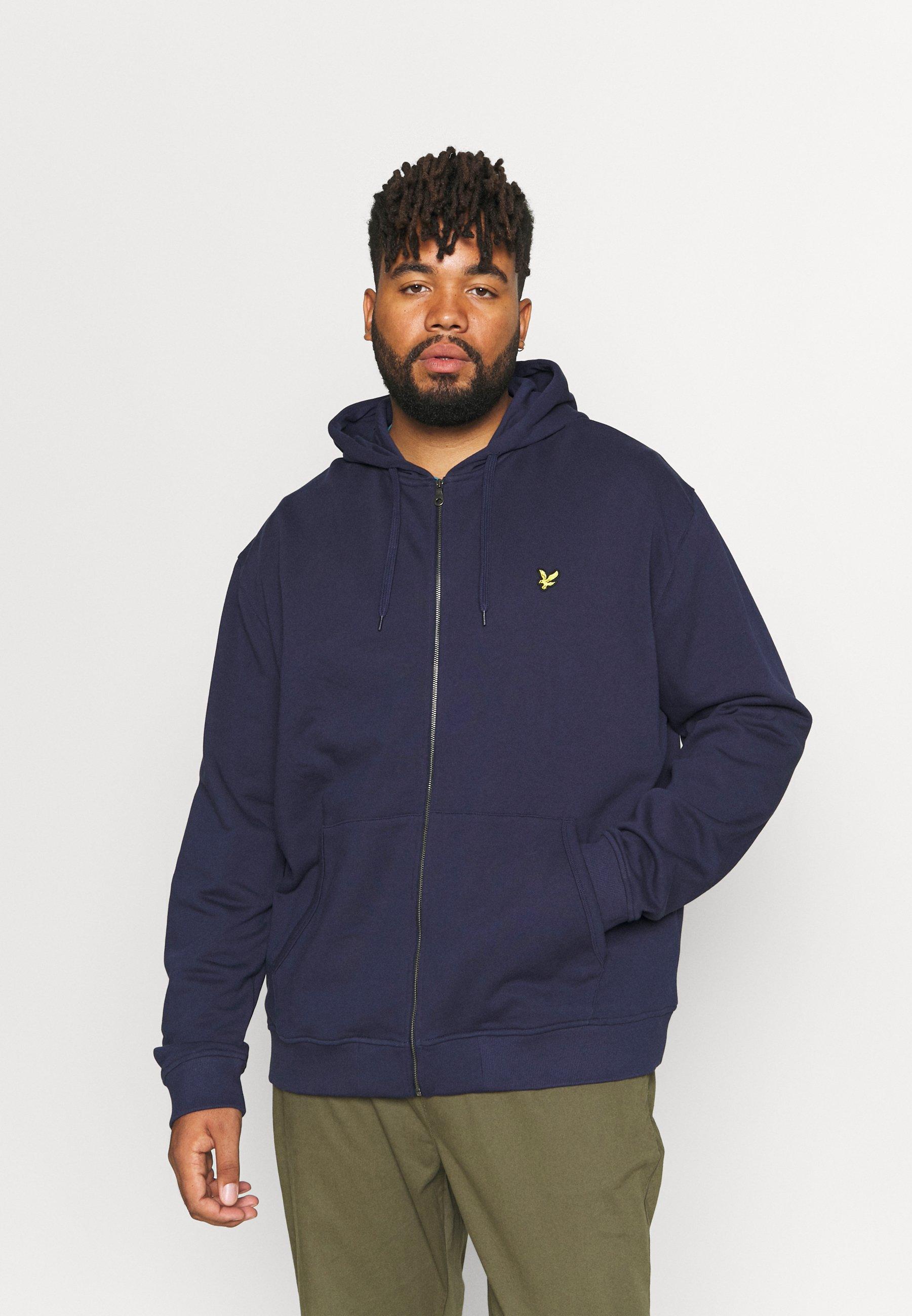 Men PLUS ZIP THROUGH HOODIE - Zip-up sweatshirt