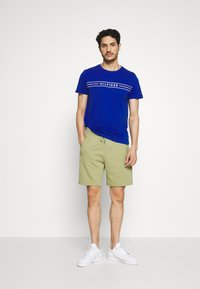 Tommy Hilfiger - BASIC EMBROIDERED  - Shorts - green - 1