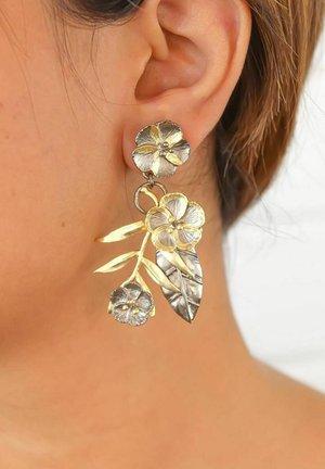 FORGET-ME-NOT - Earrings - golden