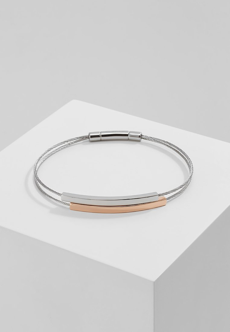 Skagen - ELIN - Armbånd - silver-coloured/rosegold-coloured