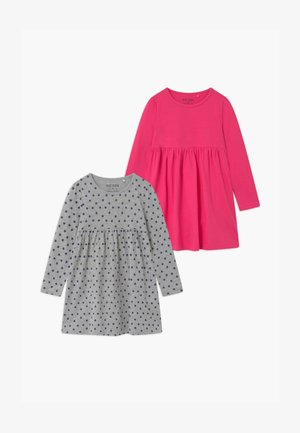 GIRLS STYLE 2 PACK - Jersey dress - pink