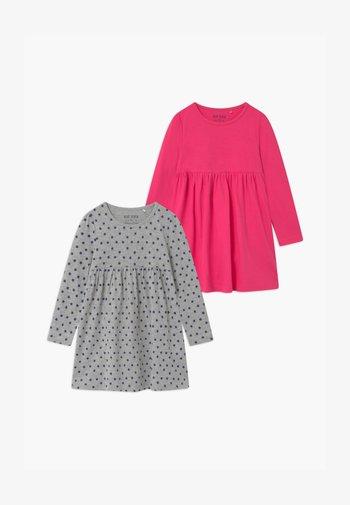 GIRLS STYLE 2 PACK - Robe en jersey - pink