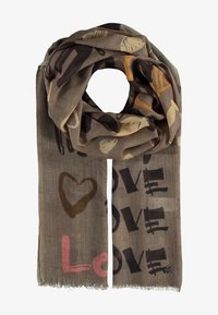 Fraas - Scarf - taupe - 0