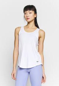 Nike Performance - DRY VICTORY ELASTIKA TANK - Sportshirt - white/black - 0