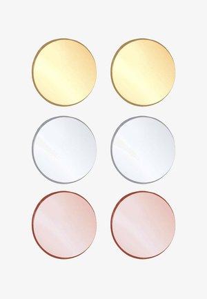 3 PACK STUDS - Earrings - multi-coloured