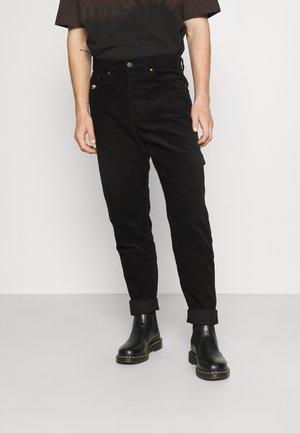 UNISEX RETRO PANTS  - Broek - black