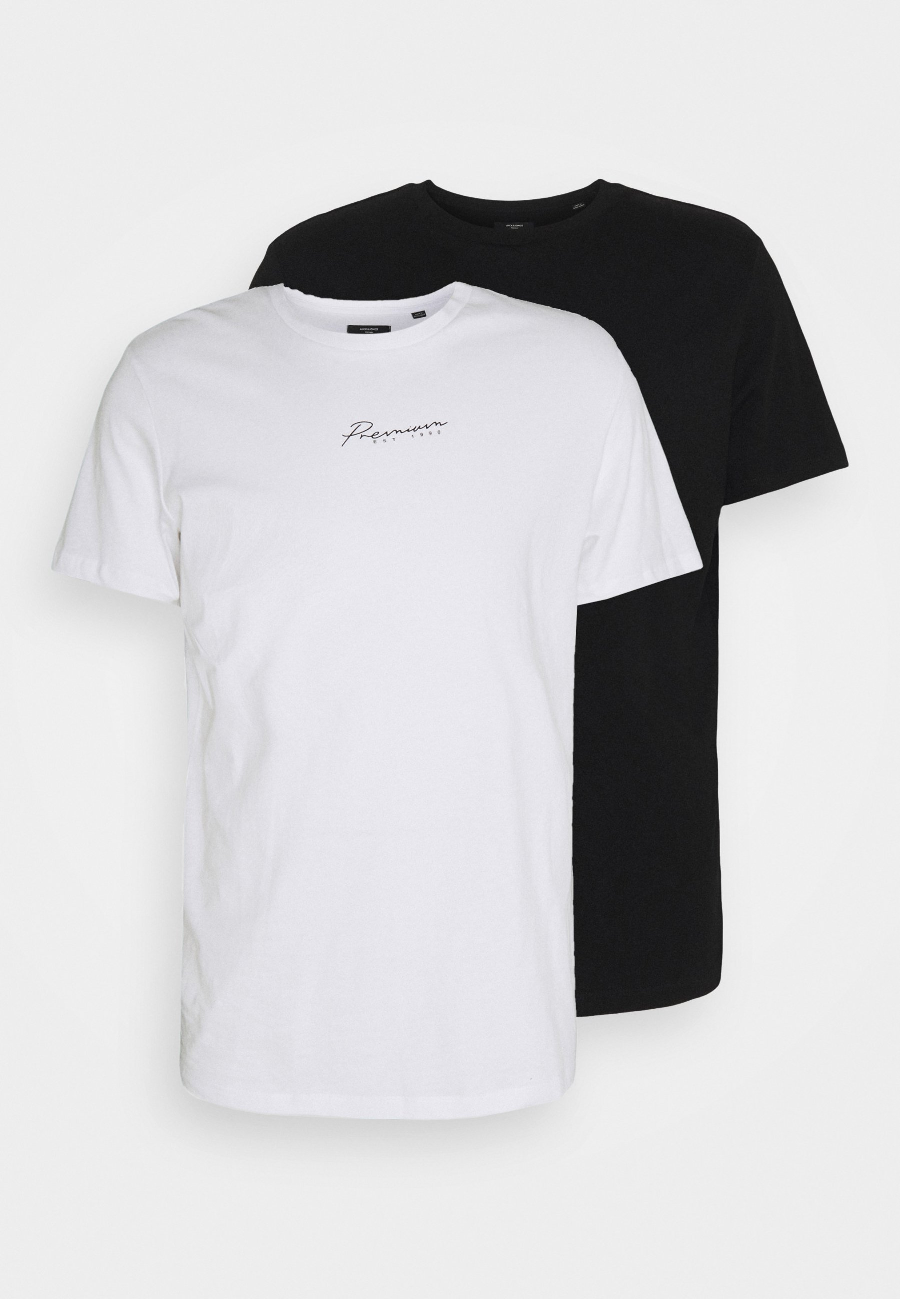 Men JPRBLASTAR TEE 2 PACK - Basic T-shirt