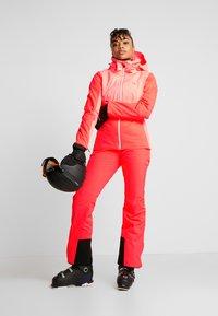 Halti - PUNTTI SKI PANTS - Snow pants - neon fiery coral - 1