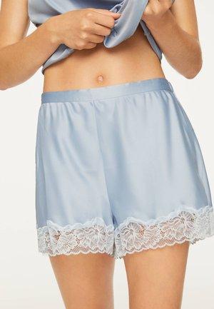 mit Spitze - Pyžamový spodní díl - light blue