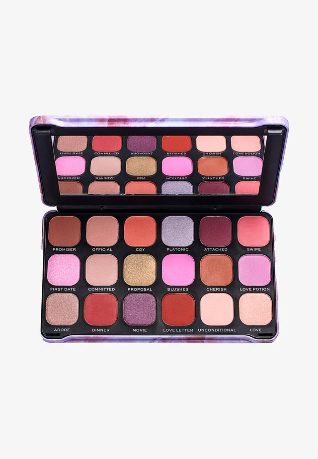 EYESHADOW PALETTE FOREVER FLAWLESS UNCONDITIONAL LOVE - Palette fard à paupière - multi