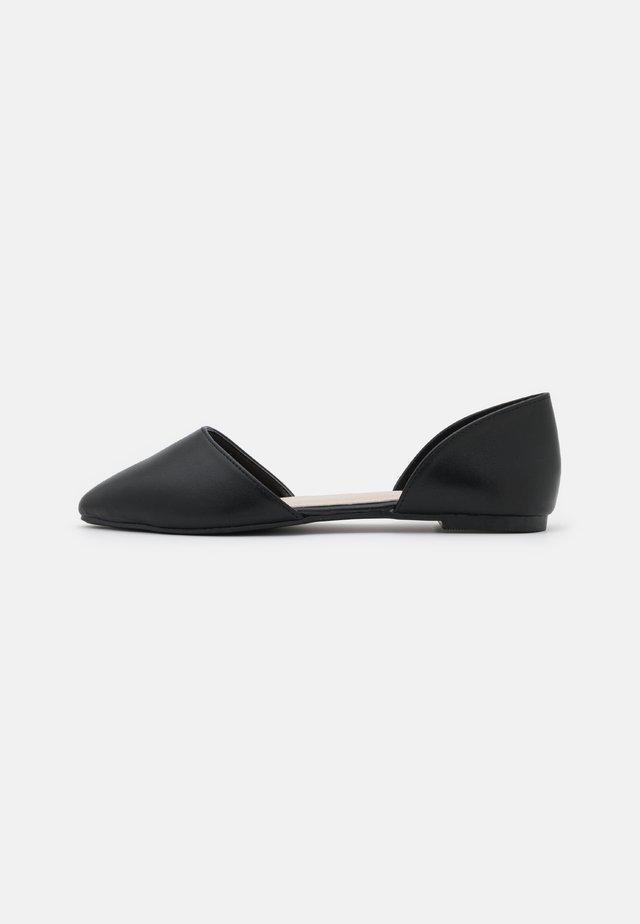 OPEN  - Ballet pumps - black