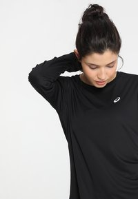ASICS - SILVER - Long sleeved top - performance black - 3