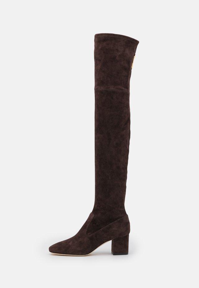 BOOT - Kozačky nad kolena - brown