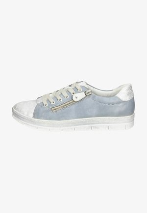 Sneakers laag - silber jeans silver