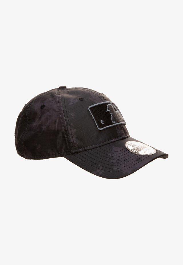 Cap - mlb logo black