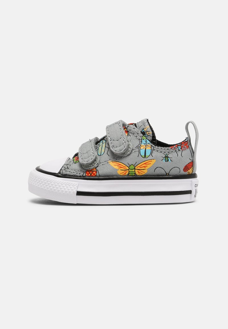 Converse - CHUCK TAYLOR ALL STAR BUGGED OUT UNISEX - Sneakers laag - ash stone/black/bright poppy