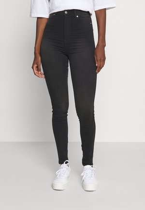 SOLITAIRE - Jeans Skinny Fit - juno mid black