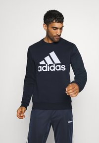 adidas Performance - ESSENTIALS SPORTS - Sweatshirts - dark blue - 0