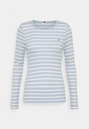 SKINNY OPEN  - T-shirt à manches longues - classic breton/breezy blue