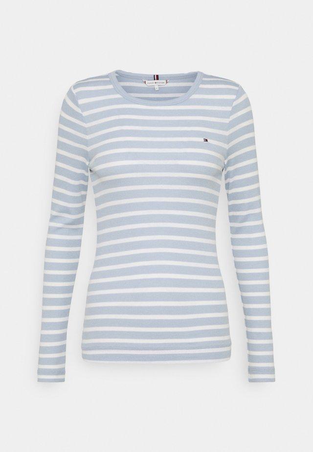 SKINNY OPEN  - Long sleeved top - classic breton/breezy blue