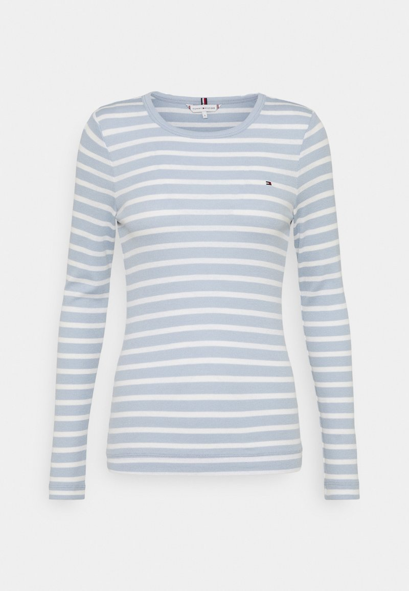 Tommy Hilfiger - SKINNY OPEN  - Long sleeved top - classic breton/breezy blue