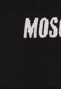 MOSCHINO - NECK WARMER UNISEX - Snood - black - 2