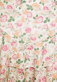 Guess - TATIANA SKIRT - A-line skirt - light pink/multi-coloured - 4