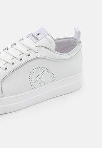 Trussardi - Trainers - white/silver - 4