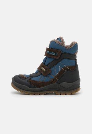 Winter boots - caffe/nero/avio