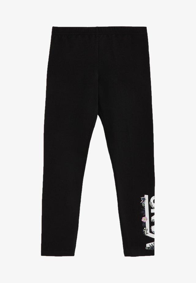 GR BLOZZOM LEGGING - Legging - black