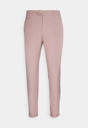 COMO LIGHT SUIT PANTS - Suit trousers - dusty rose