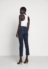 7 for all mankind - THE CROP - Straight leg jeans - dark blue - 2