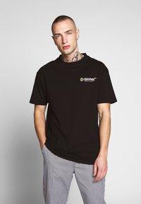 Bellfield - GLOBAL WORKSHOP PRINT TEE - Print T-shirt - black - 0