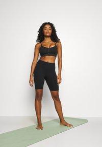 Cotton On Body - ELITE BIKE SHORT - Tights - black - 1