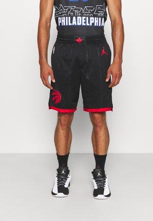 NBA TORONTO RAPTORS STATEMENT SWINGMAN SHORT - Club wear - black/university red