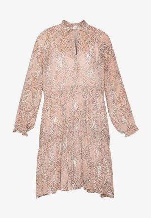 CRAYON SHORT DRESS - Day dress - eggnog
