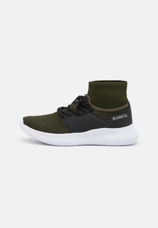 BIACLAK - Baskets montantes - dark green